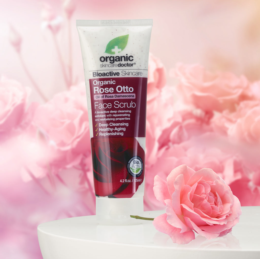 Organic Doctor Rose Otto Face Scrub