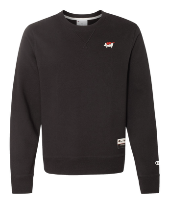 Black Crew Champion Sweatshirt