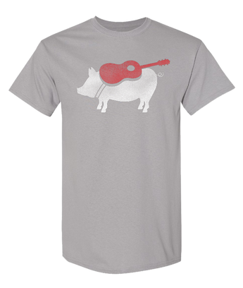 Light Gray Pig T-shirt