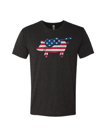 Men's Flag Pig T-Shirt