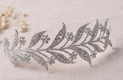 Boho Leaves Bridal Tiara