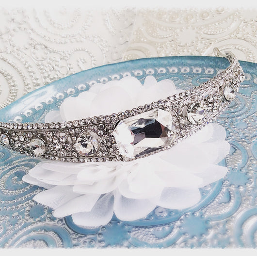 Crystal Bridal Tiara Vintage Art Deco Inspired
