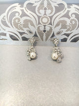 Bridal Pearls and Crystals Jewels Set