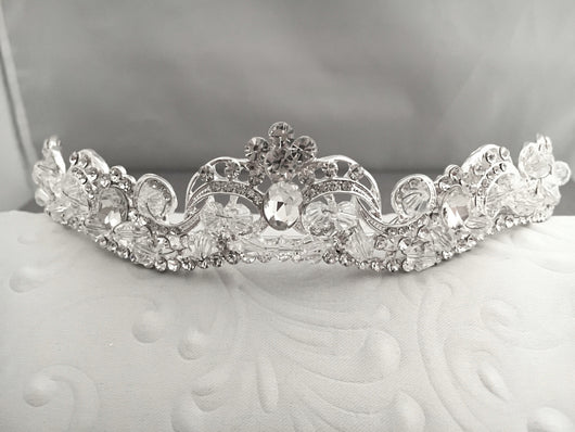 Romantic Crystal Bridal Tiara