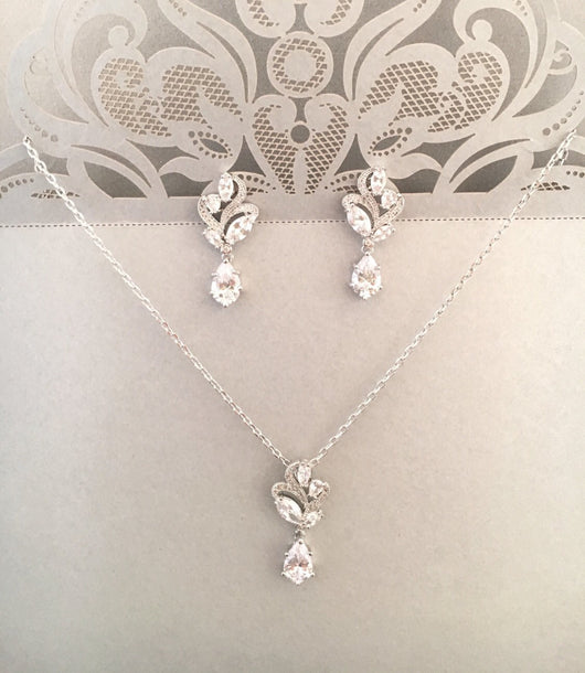 Romantic Bridal Jewelry Set