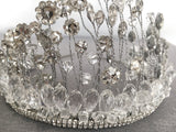 Bohemian Crystal Bridal Headpiece