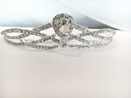 Crystal Bridal Crown Tiara