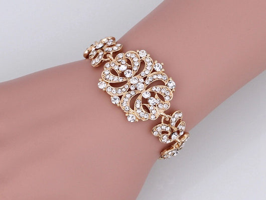Art Deco Bridal Bracelet
