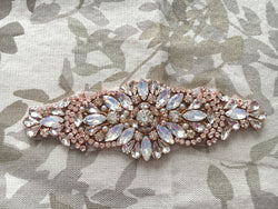 Rose Gold Bridal Belt