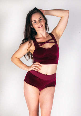 Cranberry Crush HALTER TOP