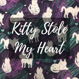 Kitty Stole My Heart Print