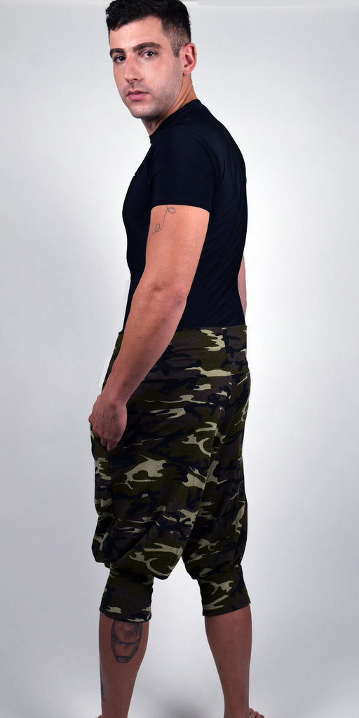 CIRCUS PANT CROPPED - VINTAGE CAMO