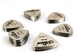 Alice Stainless Steel Guitar Picks - 0.3mm - 12pcs