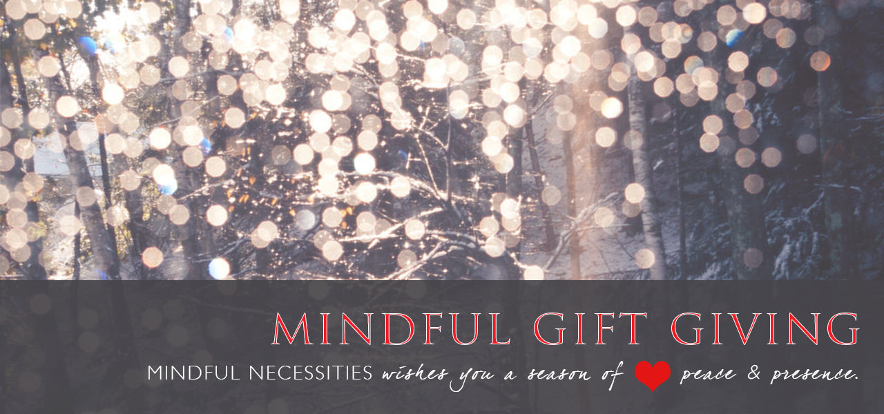 Early holiday SALE for mindful giving