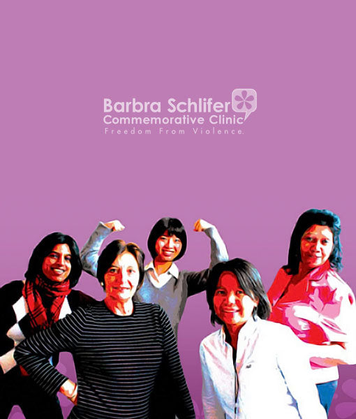 Barbara Schliffer Clinic Helping women who are survivors of violence.