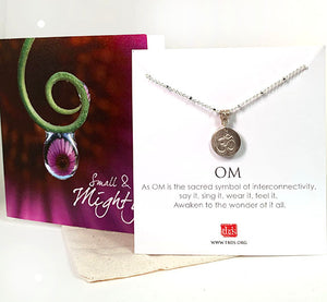 "SMALL & MIGHTY ""OM"" PENDANT"
