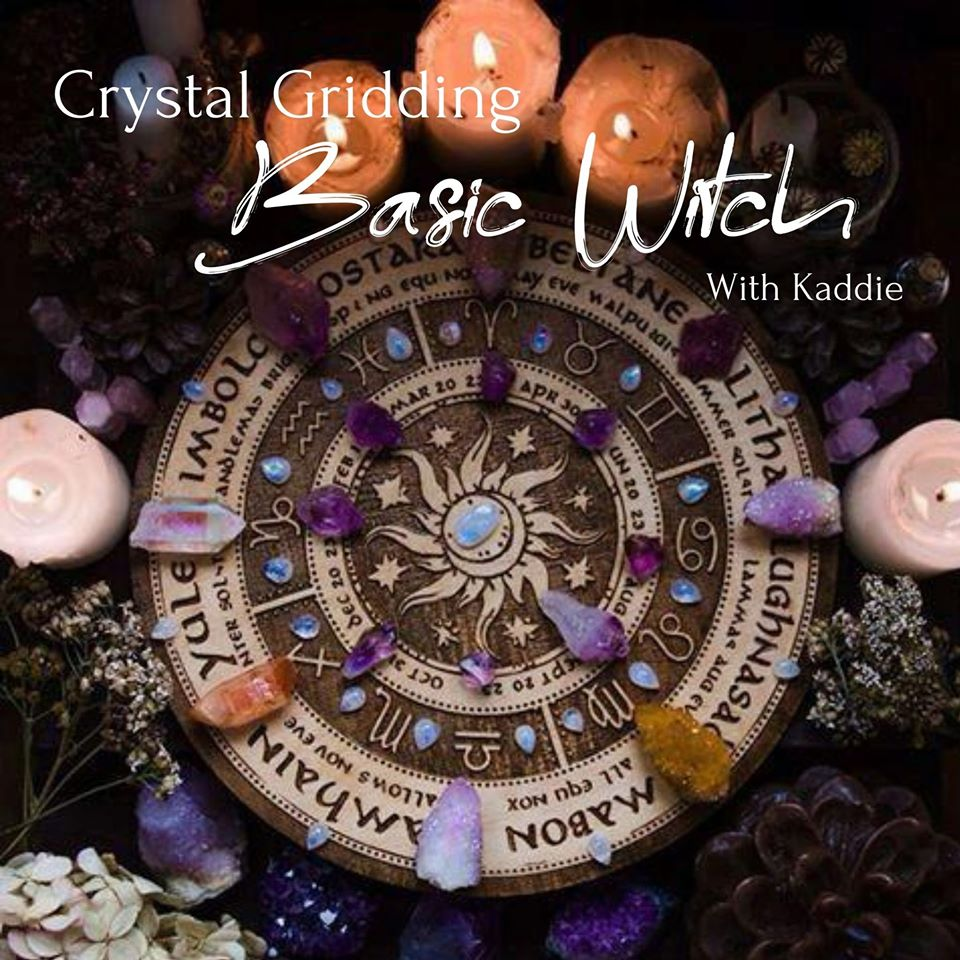 August 28th - Basic Witch Crystal Gridding
