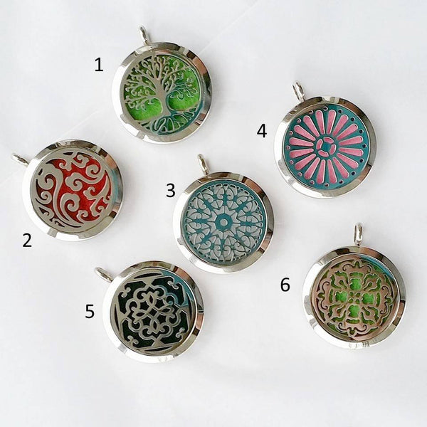 Stainless Steel Locket with Chain Necklace