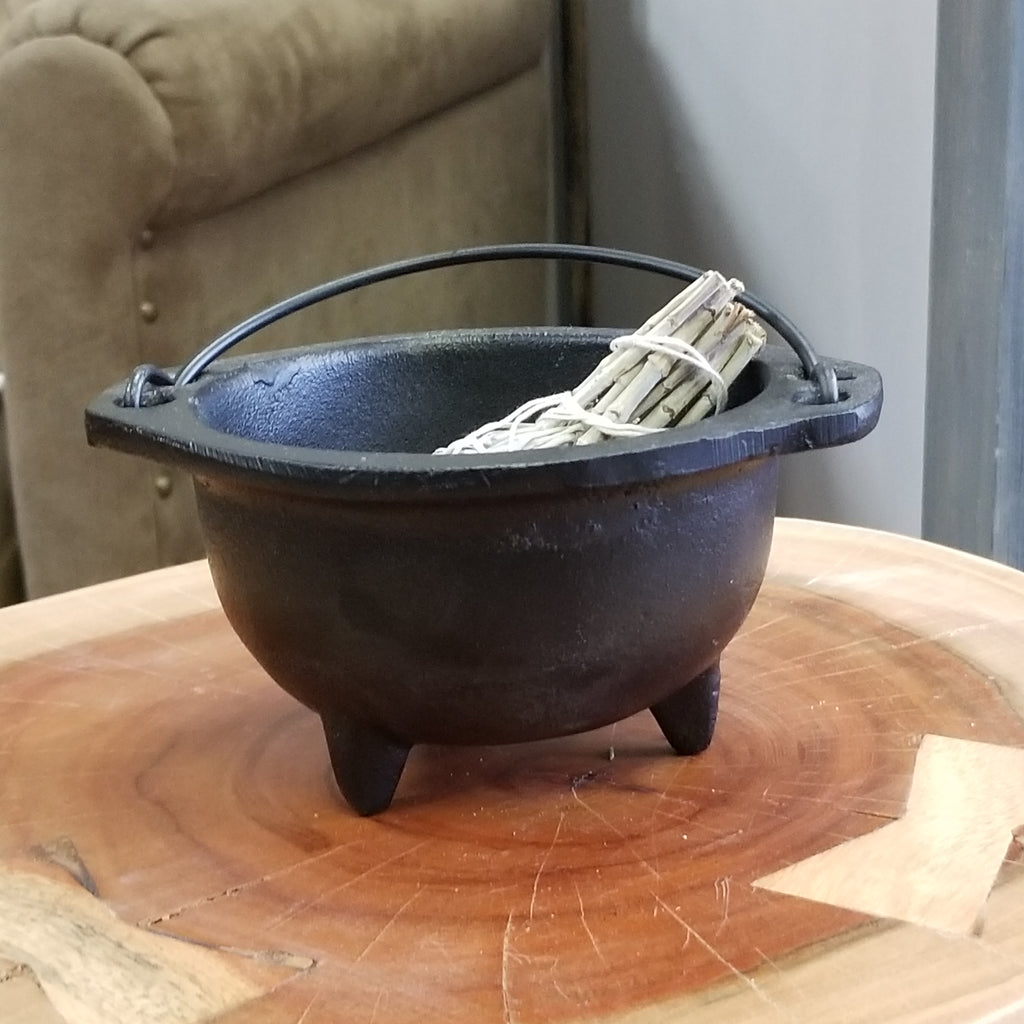 6in. Cast Iron Cauldron