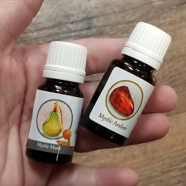 Musk or Amber Oil