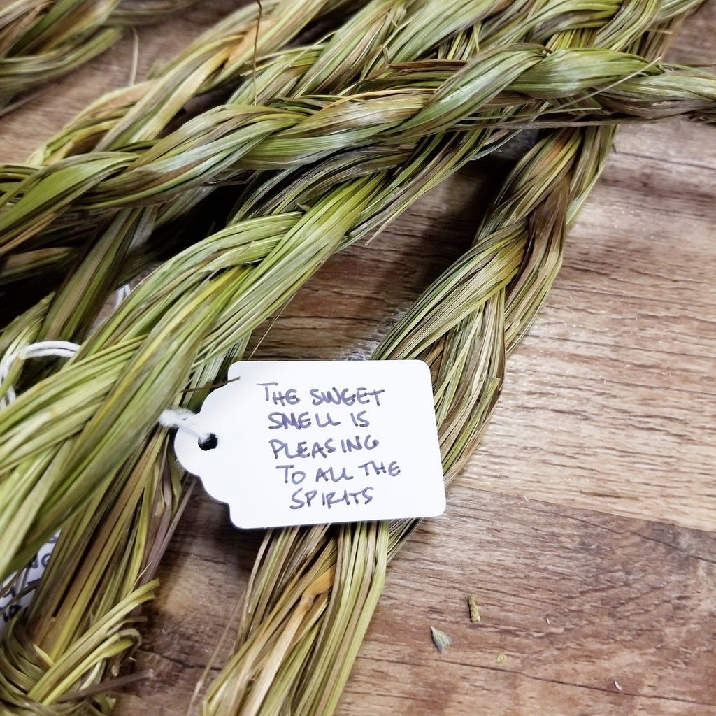 Sweet Grass Smudge