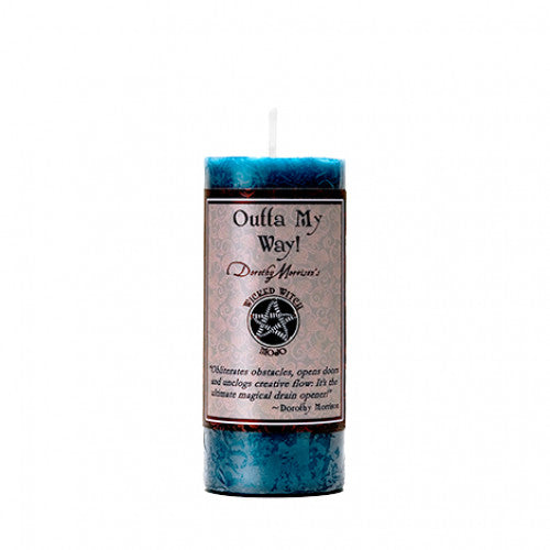Dorothy Morrison Wicked Witch Mojo Candles