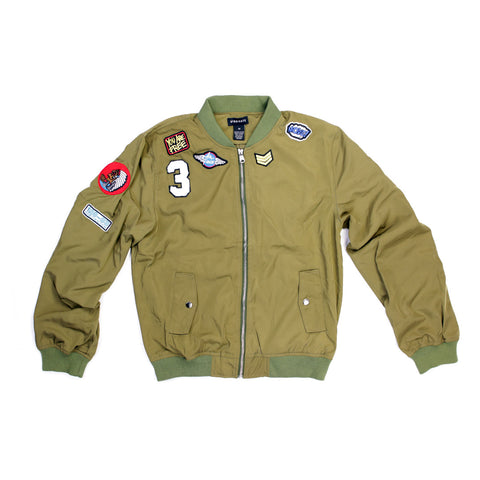 Syndicate U.S Airforce Badge Bomber Jacket - 168111 - NYC Fashion Guru