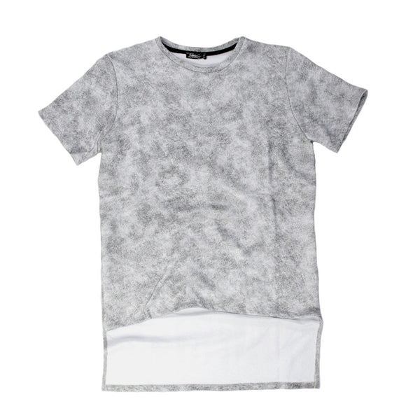 Stone Washed French Terry T-shirt for Men