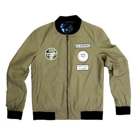 Syndicate U.S Airforce Bomber Jacket - 168134 - NYC Fashion Guru