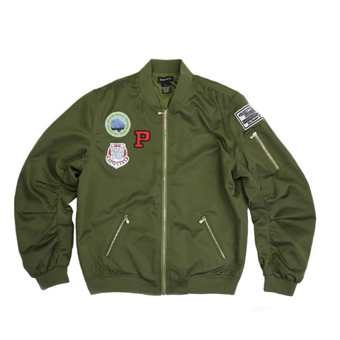 Syndicate Varsity Kings Bomber Jacket - 168110 - NYC Fashion Guru