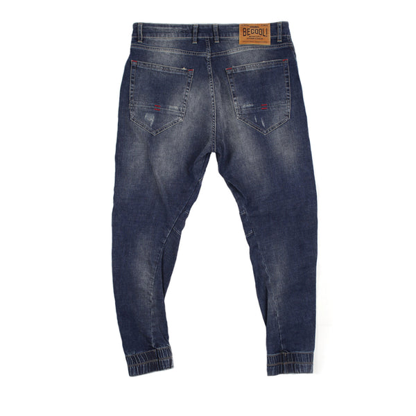 Rugged Jogger Fit Jeans