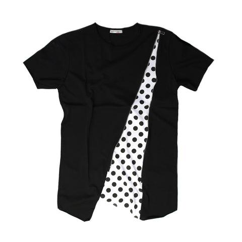 Design Zipper and Graphic Trend T-shirt for Men