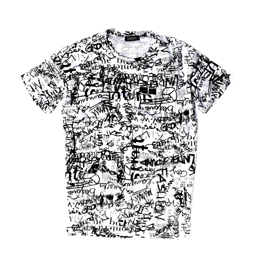 Syndicate Fashion Printed / Graphic T-shirt for Men