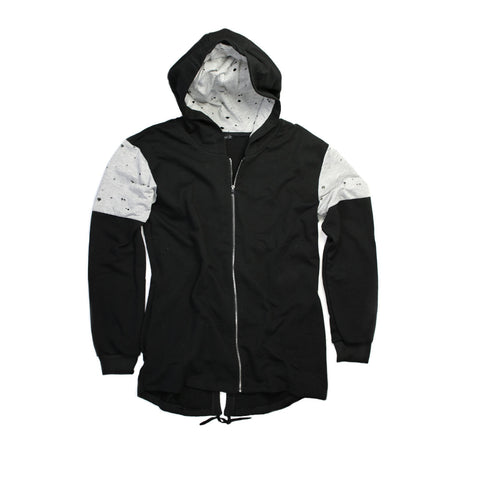 Ripped Jacket with Hoodie for Men - 6123 - NYC Fashion Guru