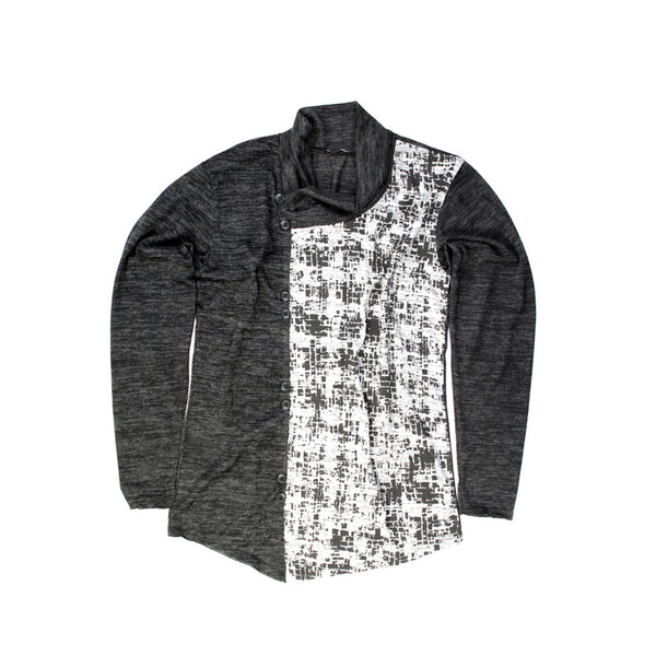 Techno Abstract Urban Style Sweater for Men