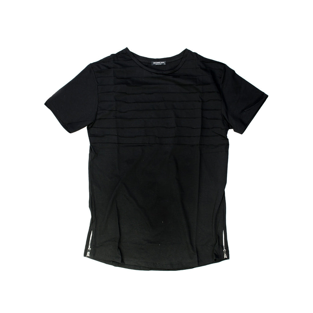 Self-striped Millions Man Fashion T-shirt