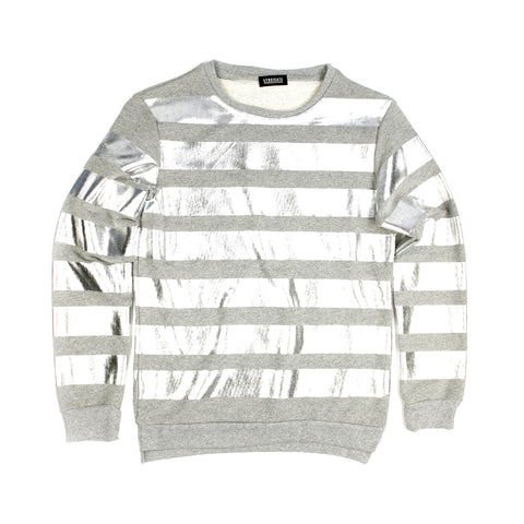 French Terry Striped T-shirt for Men