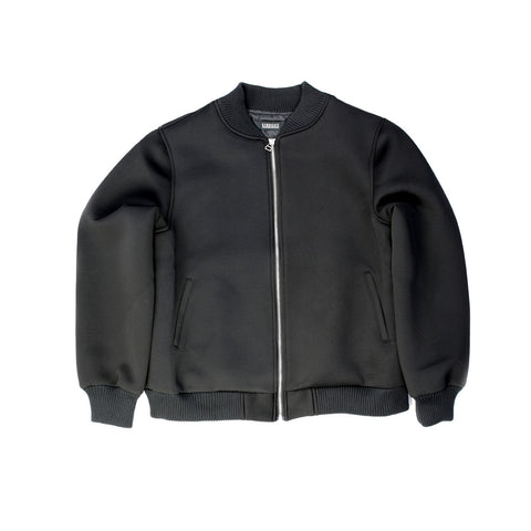 Black Bomber Jacket - FL1521 - NYC Fashion Guru