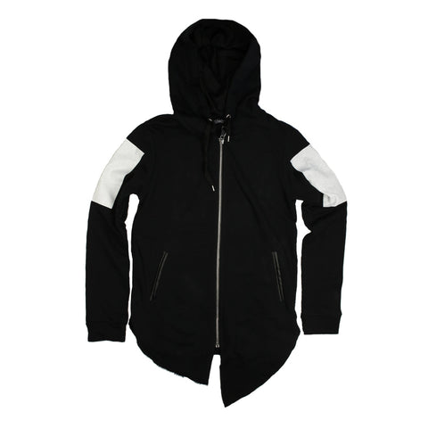 Flat Print Hoodie Jacket for Men