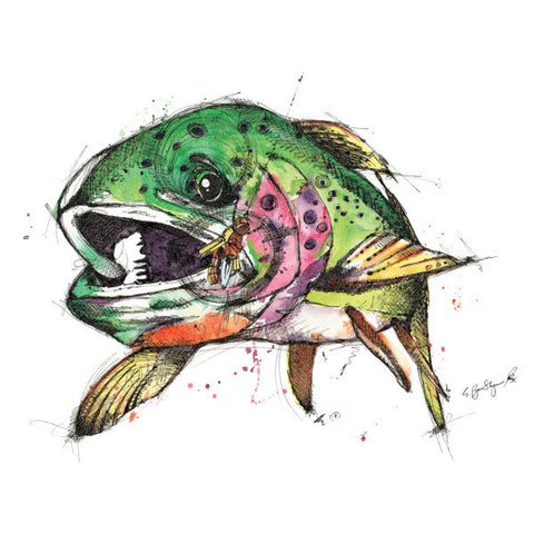 Cutty (Print) - Dead Weight Fly