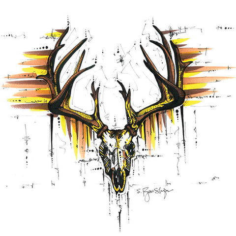 Dead Weight Buck (Print) - Dead Weight Fly