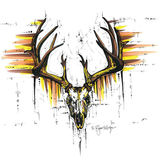 Dead Weight Buck (Print)