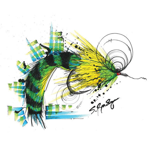 Tarpon Sprite (Print) - Dead Weight Fly