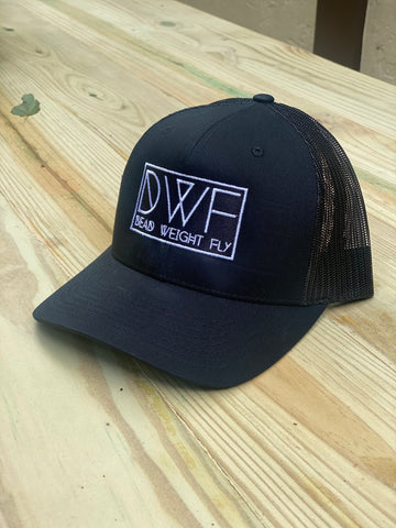 DWF Black Retro Trucker