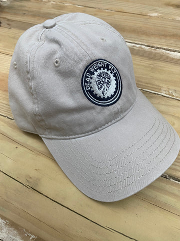 Navy, White and Khaki Dad Hat
