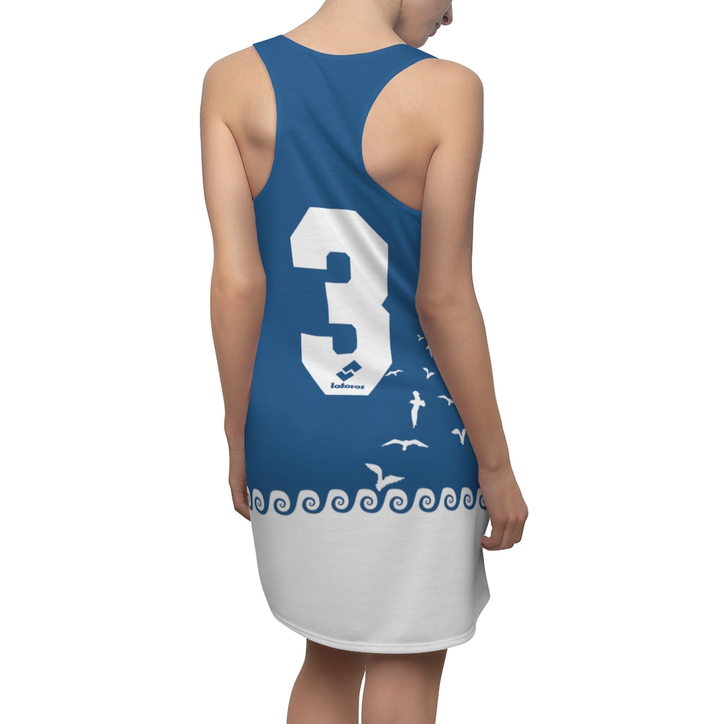 VOSRIO Glaros Women's Cut & Sew Racerback Dress