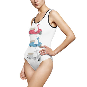 Vespa VOSRIO Women's Classic One-Piece Swimsuit