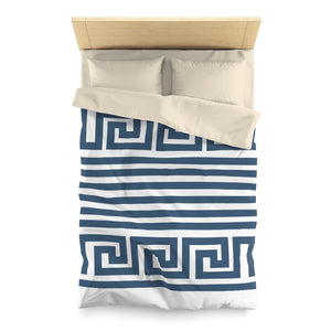 In Theory Microfiber Duvet Cover