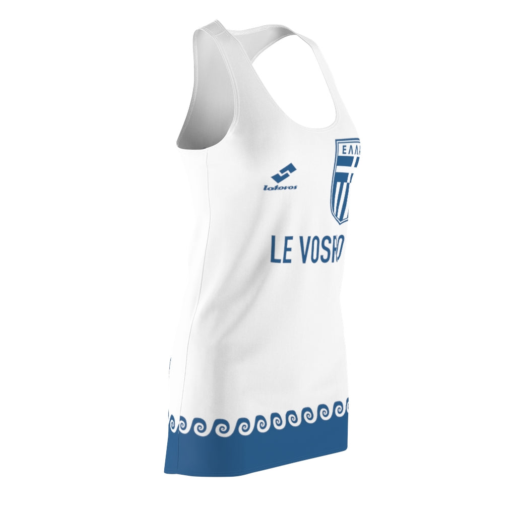 VOSRIO Set Sail Women's Cut & Sew Racerback Dress