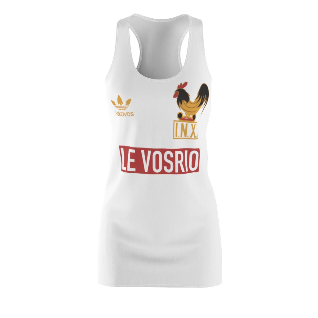Le VOSRIO Women's Cut & Sew Racerback Dress